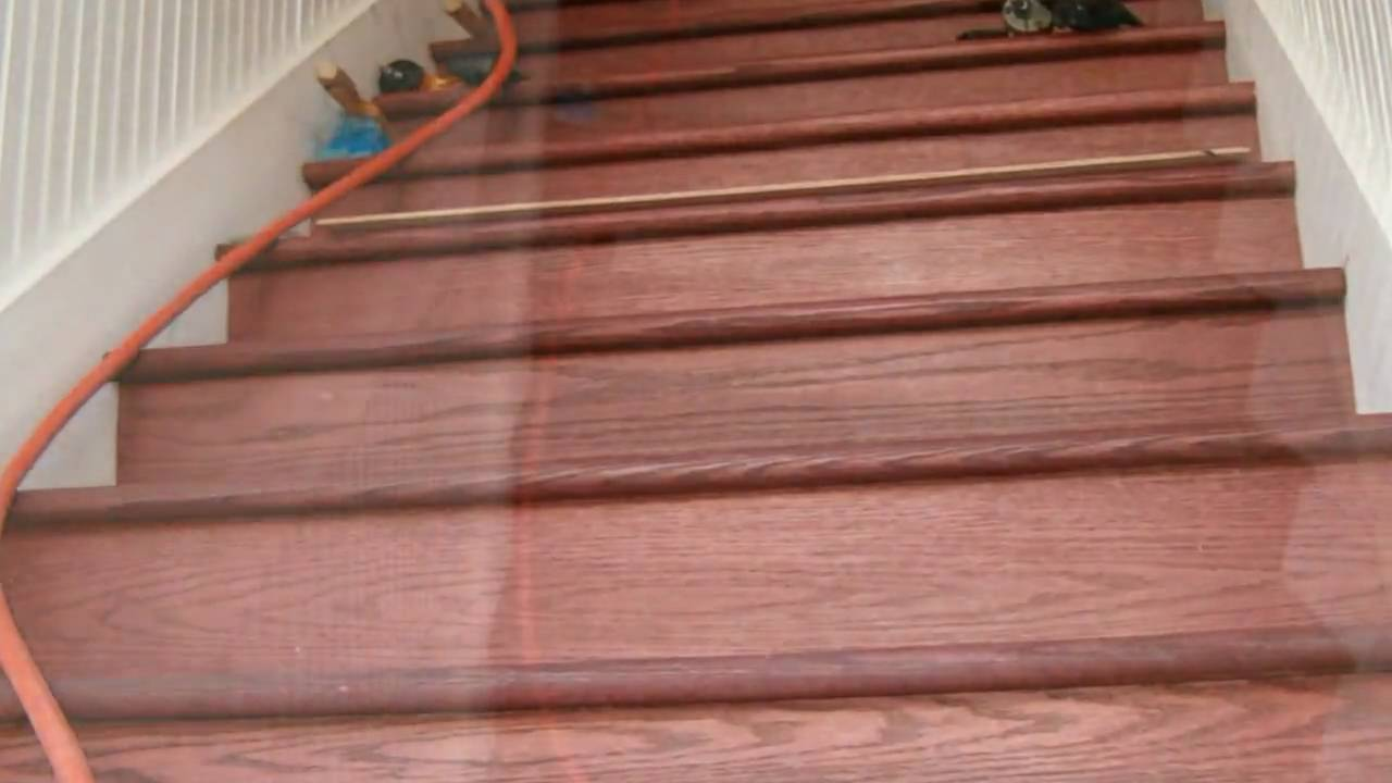100 Year Old Staircase Repair Youtube