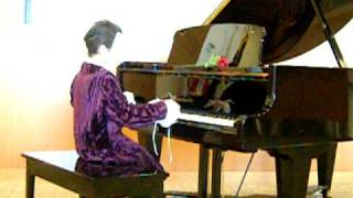 Asian Nicholas, age 10, plays Phantom of the Opera on Piano at his recital