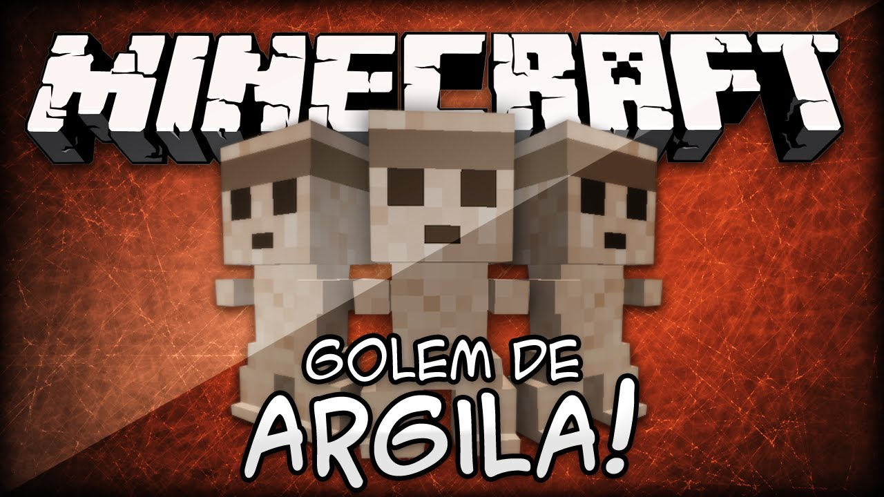 Minecraft mod golem de argila clay golem youtube - Minecraft golem de diamant ...