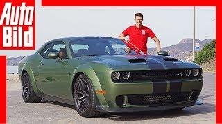 Dodge Challenger SRT Hellcat Redeye (2018) Fahrbericht / Test / Review