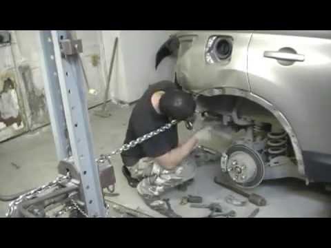 Кузовной ремонт - Nissan Qashqai