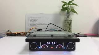 ZK-7191G 7 Inch 1Din Dashboard Car Navi DVD Player