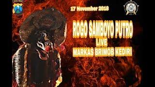 ROGO SAMBOYO PUTRO PRABU SINGO BARONG SEMPAT TERJADI RICUH LIVE MARKAS BRIMOD KEDIRI.