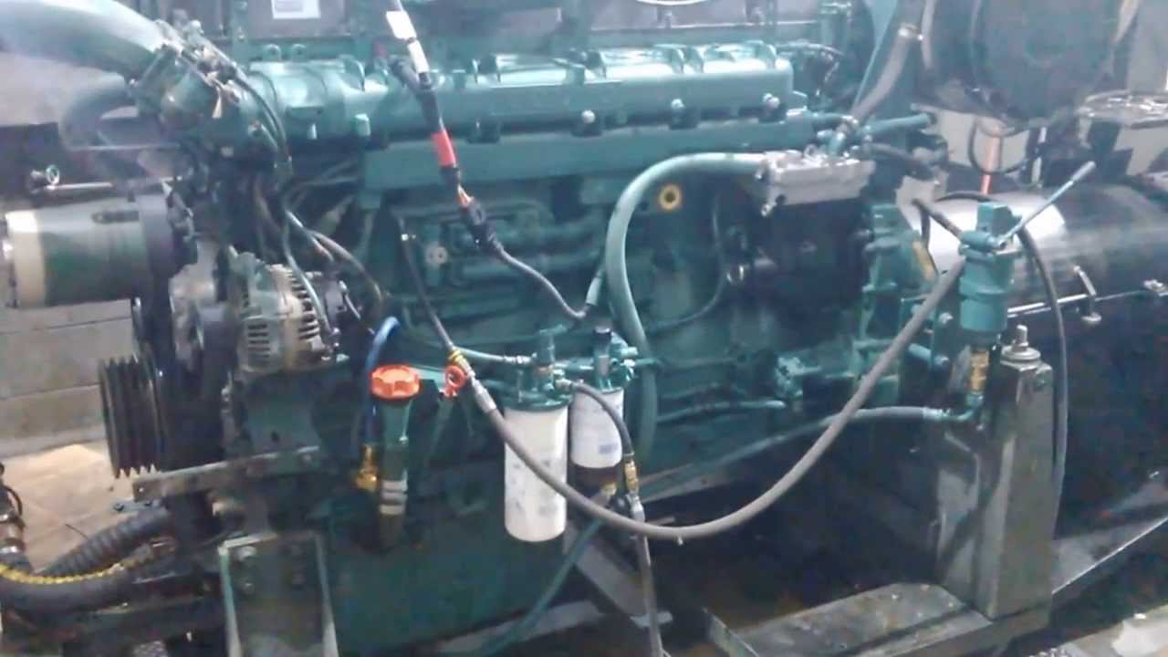 Volvo Penta D16 Dyno Run After Re-build. - YouTube