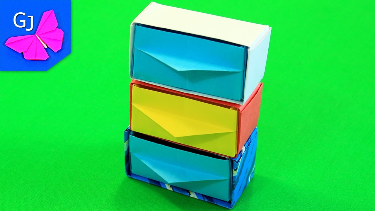 Поделки из оригами мебель