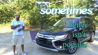 2016 Mitsubishi Outlander 3.0 GT Review - Sometimes Better Isn't Popular