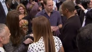 NBA Royals: William and Kate meet Beyonce, Jay Z and Lebron James