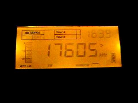 Adventist World Radio 17605 kHz. 6.11.2011.
