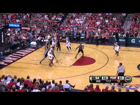 San Antonio Spurs vs Portland Trail Blazers Game 4 | May 12, 2014 | NBA Playoffs 2014