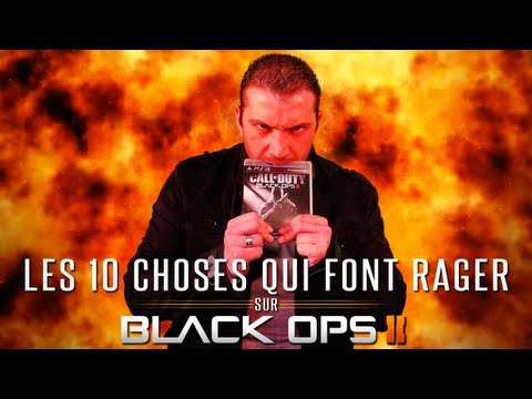 Top 10 des choses qui font rager sur Black Ops 2