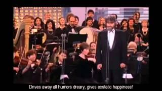Andrea Bocelli Brindisi Cavalleria Rusticana With English Subtitles