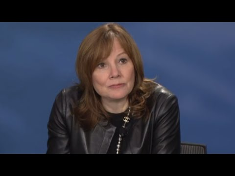 GM CEO Mary Barra's Opening Remarks at 2015 Detroit Auto Show
