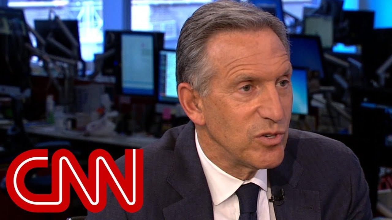 Starbucks chairman: Trump's rhetoric has 'given license' to racism
