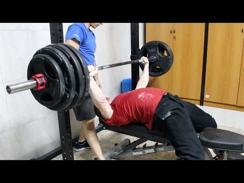 PAUSED BENCH PRESS 397lb (180kg) Image 1