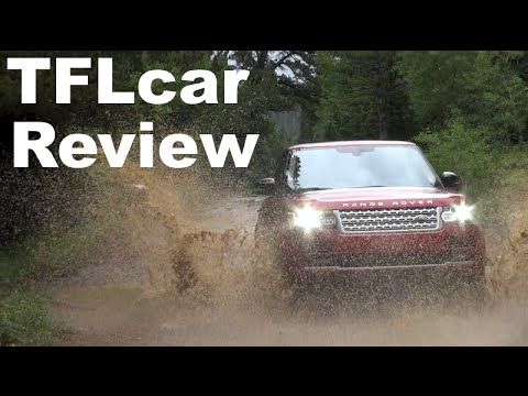Supercharged 2014  Range Rover Off-Road Review: Rain. Mud & Lightening Oh my!
