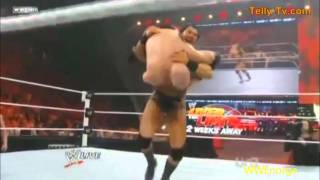 Kane vs Mason Ryan Raw 5/9/11