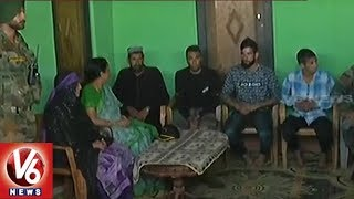 Defence Minister Nirmala Sitharaman Meets Family of Slain Soldier Aurangzeb in Poonch