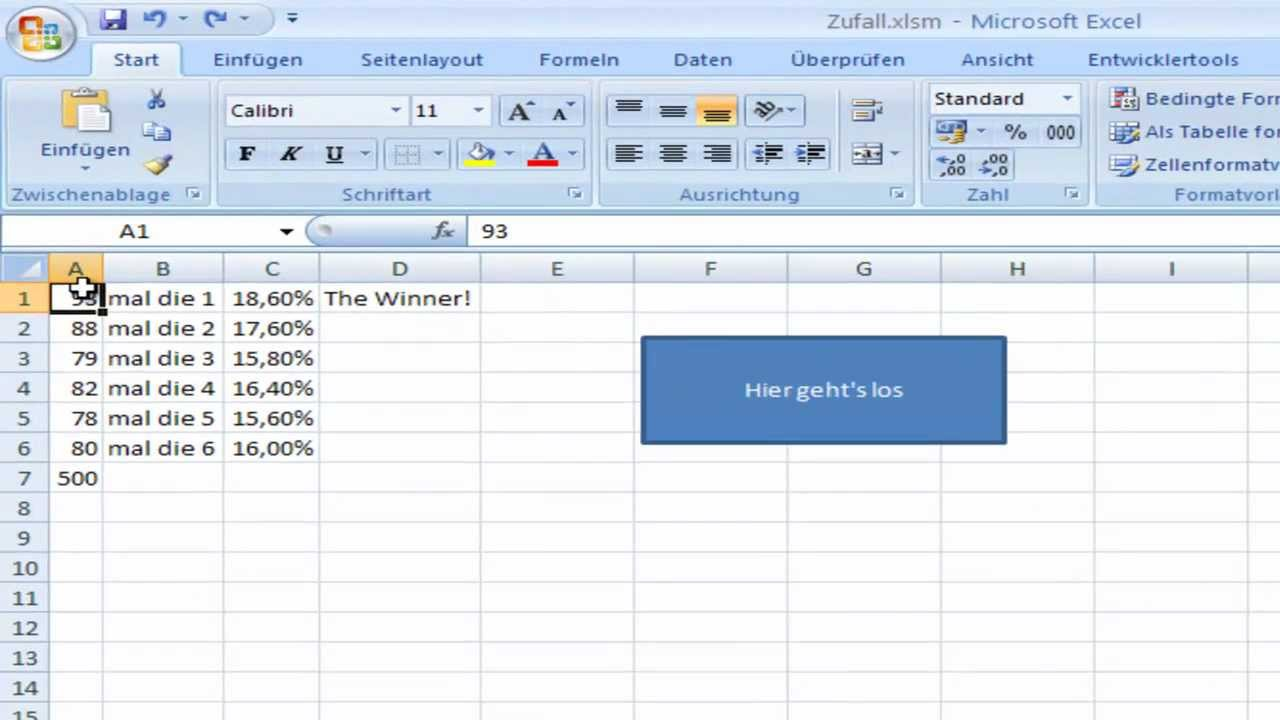 zufall excel