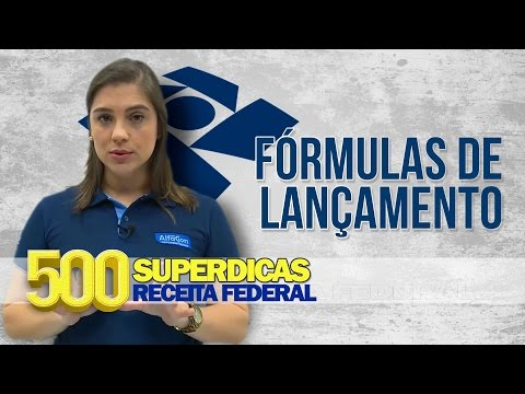 Contabilidade - Fórmulas de   Dica nº22  Receita Federal - AlfaCon Concursos Públicos