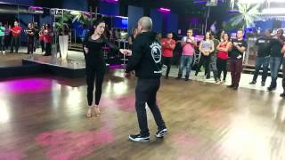 Island Touch Montreal team bachata lesson