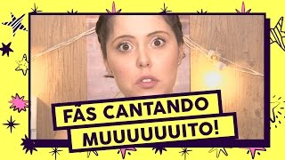 Toptop 6 Artistas Surpreendidos Por Fãs Cantando Muito
