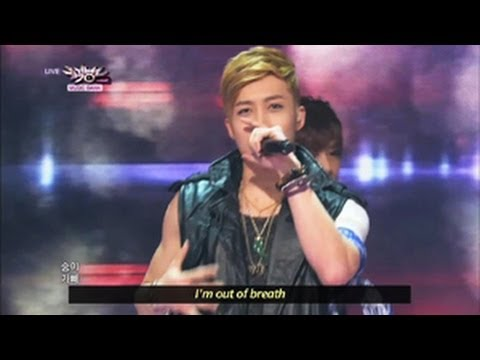 M.I.B - Nod Along (2013.05.11) [Music Bank w/ Eng Lyrics]