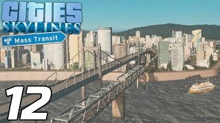 Das wilde INSEL-LEBEN | Lets Play Cities: Skylines #12 | Mass Transit | Valle