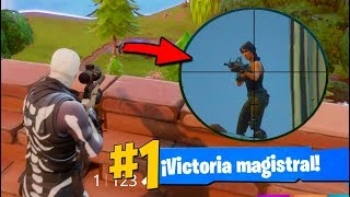 El Disparo MÁS Lejano de SNIPER | Fortnite: Battle Royale
