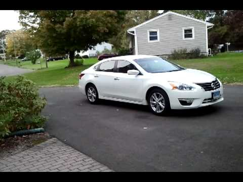 2013 Nissan Altima SV 2.5 4cyl Review 3 weeks