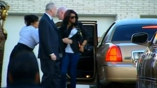 Whitney Houston Funeral_ Private Family Viewing on Friday Evening