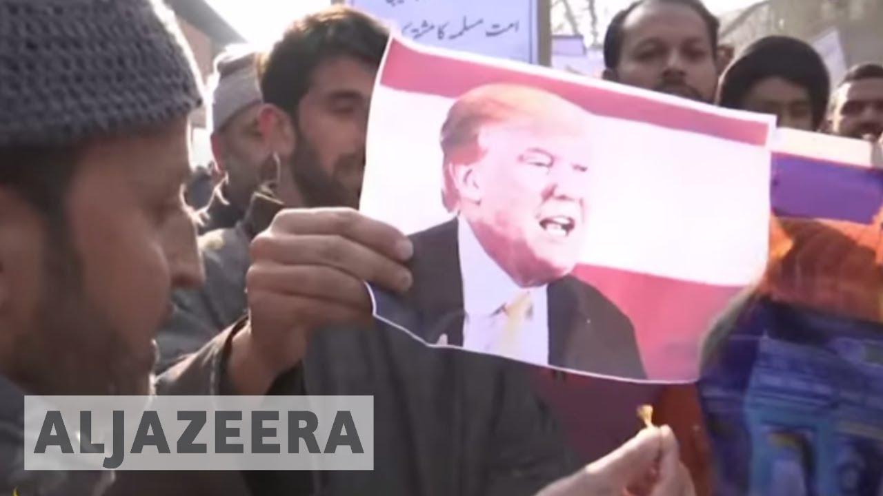 Global protests mark US Jerusalem move