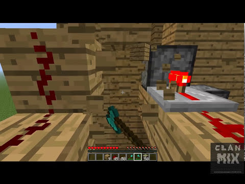 Como hacer escaleras automaticas 2013 facilmente - Minecraft