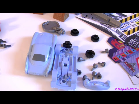 Mini Klip Kitz Mater & Finn McMissile Cars 2 Disney Pixar Build & Paint Copic Markers Auta