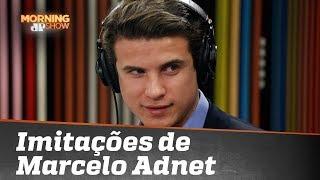 """""""Imitador oficial"""" de Bolsonaro, André Marinho fala da imitação de Marcelo Adnet"""