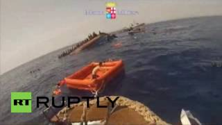 Italy: Vessel carrying 550 refugees capsizes off Libyan coast, 5 dead
