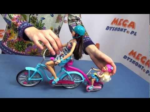 Tandem Bike Playset / Dwuosobowy rower kempingowy Barbie - www.MegaDyskont.pl - sklep