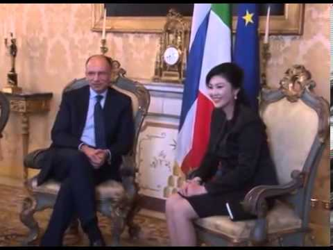 นายกรัฐมนตรีหารือกับ นายEnrico Letta นายกรัฐมนตรีอิตาลี