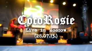 CocoRosie - Tears For Animals (Live in Moscow 28.07.13.)
