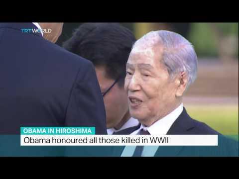 US President has visited Hiroshima, Sandra Gathmann reports