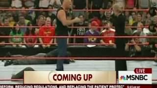 Stone Cold Stunner on Linda McMahon