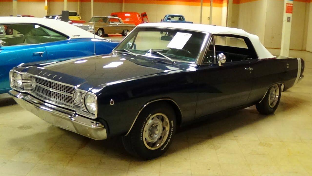 1968 Dodge Dart Gt Convertible 360 V8 Gateway Classic Cars