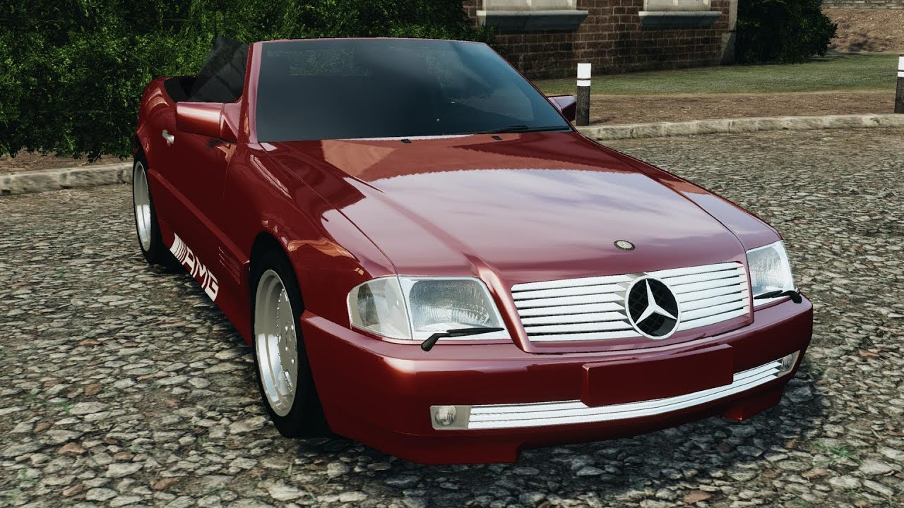 mercedes benz sl 500 amg 1995 final for gta 4 youtube. Black Bedroom Furniture Sets. Home Design Ideas