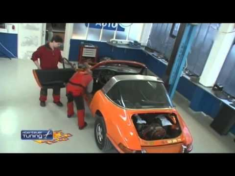 Abenteuer Tuning Porsche 911 Targa German/Deutsch Part 1/3 HD