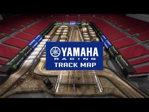 2018 Yamaha Track Map: Las Vegas