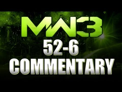 MW3 Online - 52-6 Gameplay Commentary