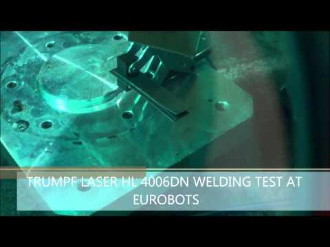 laser Trumpf HL 4006D at Eurobots