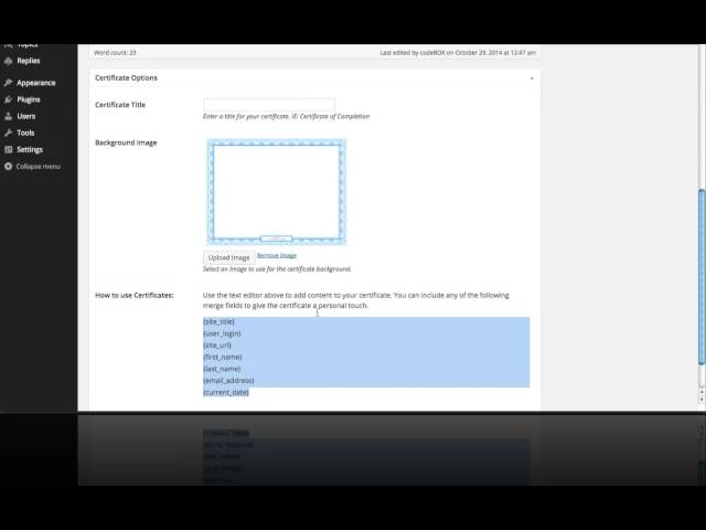 How to Create Certificates on a WordPress LMS with lifterLMS