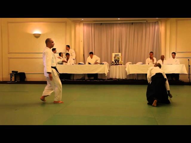 Aikido Shudokan 32nd demo: Shihan Joe Thambu