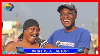 What is a LAPTOP? | Street Quiz | Funny Videos | Funny African Videos | African Comedy