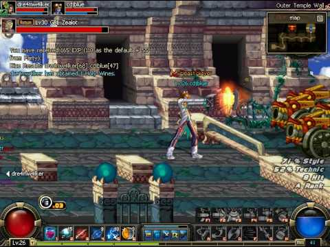 DFO - Outer Temple Wall - Spitfire and Brawler